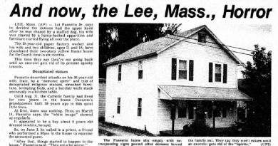 Un exorcisme au Massachusetts: la possession de la famille Passetto